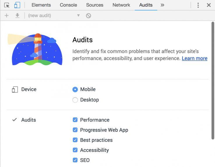 سرعت وردپرس - اندازه گیری سرعت سایت توسط فانوس گوگل