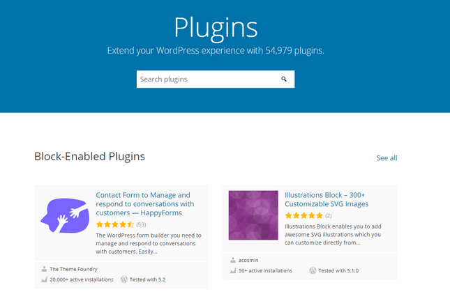 wordpress-plugins list