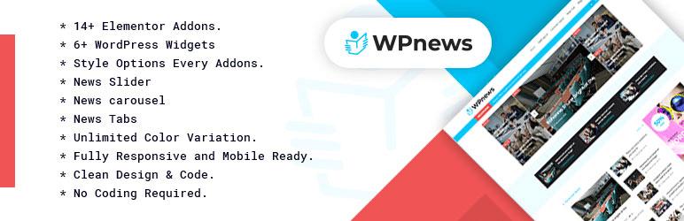 افزونه WP News وردپرس