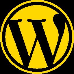 خدمات وردپرس : لوگوی طلائی وردپرس